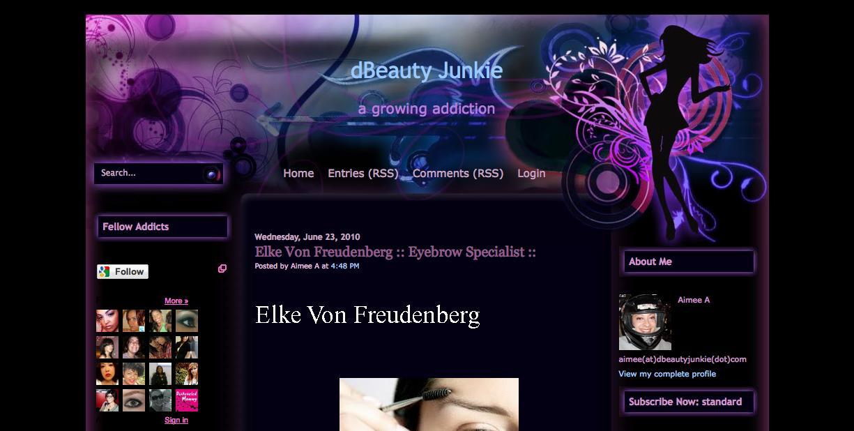 dBeauty-Junkie-Elke-Von-Freudenberg-Eyebrow-Specialist- See Elke's Interview on dBeauty Junkie shape face eyebrow color