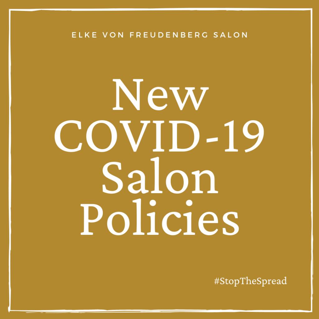 New Salon Covid 19 Guidelines